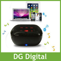 new stereo Bluetooth 3.0 mini Boombox Speaker for Ipad/iphone/computer / Portable Speaker +Drop shipping by air mail