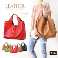2013 women's genuine leather handbag cowhide women of messenger of bag High Quality  free shipping
