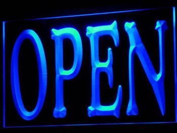 ADV PRO i645-b NEW OPEN Shop Bar Pub Restaurant Neon Light Sign Wholesale Dropshipping