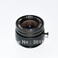 "2.8mm Megapixel CS Lens / 3MP ED F1.4 IR Lens CCTV Camera 1/2.5"" For Security CCTV Camera"