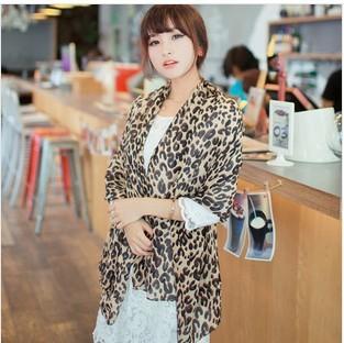 New hot! 2013New Arrive Leopard print Scarf Fashion Female models super long scarf Women Scraf(China (Mainland))
