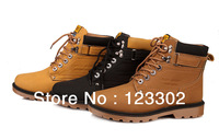Mens winter warm riding boots male leather ankle fashion boots outdoor sport boots Waterproof snow shoes Free shipping X0013