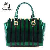 Binnitu 2013 women's handbag fashion one shoulder women's bags stripe handbag cross-body bag