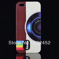 1PCS PROMOTION For iPhone 5 5S Fashion Instagram Pattern Hard Case,Insta Camera Design Pattern Hard Case