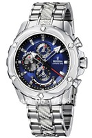 Festina Uhr Multifunktion Herren-Armbanduhr Chronograph New Quartz Steel Strip F16525/4