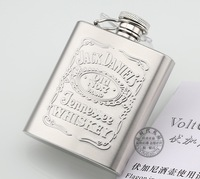 Best 3 oz Hip Flask 85ml Jack Daniels Stainless Steel Wine Flasks Best Flask Outdoor Drinking Bottle Drop Shipping