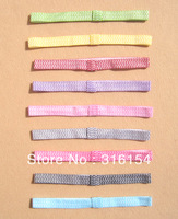 "18 pcs Baby Girl Stretch 3/5"" Interchangeable Elastic Stripe Headbands for Flowers Hair Clips"