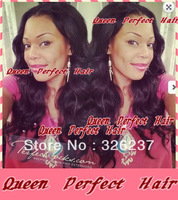 High Quality African Americans virgin hair Lace front wig glueless with combs and straps with baby hair around freeshipping