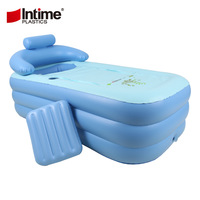 Yingtai inflatable bathtub thickening thermal adult inflatable bathtub folding bathtub bath bucket