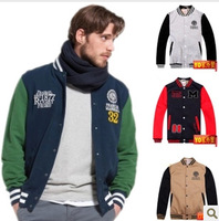 England spring tide male models plus mast yards baseball uniform jacket baseball jersey cotton loose hip-hop baseball Jacket