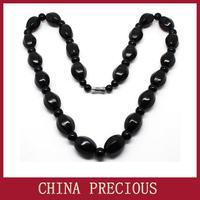 Free Energy Necklace/ Magic Health Natural Black Stone Needle/ whiten skin, circulate blocked pores, and weaken yellow pigment
