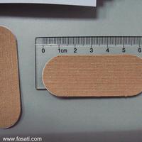 60pcs 2.2cm*7.7cm kinesio finger tape strips fingerboard finger protection tape elastic velcro finger skateboard grip finger