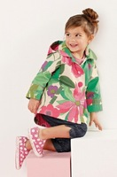 hot sale!Free Shipping,1pcs/lot, children wear,children long sleeve NE*** brand print design girl's coats,mulit color