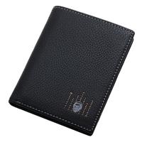 Male casual kuailelaotou commercial vertical fashion skin card wallet leather handbags