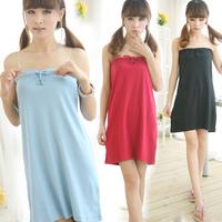 R70046 ,100% cotton bath skirt female tube top bath towel skirt bathrobes