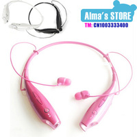 Bluetooth Stereo Headset Neckband Earphone Wireless Sport  Handfree headphone for Cellphones iPhone lg samsung htc