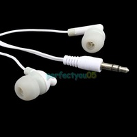 3.5MM Inear Earbud Earphone For iPhone 4  MP4 PSP PY5#