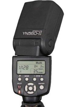 Yongnuo YN 560 YN-560 YN560 II 2.4G Wireless Flash for Panasonic Canon Nikon Pentax Olympus Digital Camera
