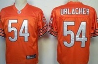 Womens Chicago #54 Urlacher White Color American Football Jerseys,Size XS-XXL