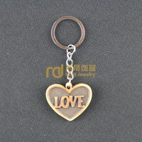 2013 Fashion Punk Jewelry Resin Ivory Ox Bone Key Chain K0449 Decoration Free Shipping (mix min order $29)