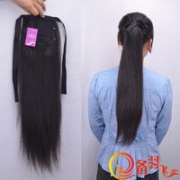 Free 60 - 65cm  Young Girl shunfa Pocket  Remy Ponytail H HAIR   100g/pcs
