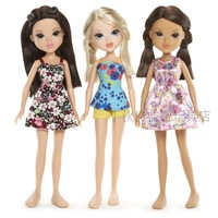 Free Shipping 2013 New Fashion Dolls Original Moxie Doll Moxie Girlz Sweet Petals Avery/Sophina/Lexa Girls Toys Gifts