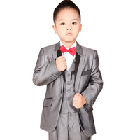 new 2013 child suit fine lines set children's clothing set boys slim Blazers set