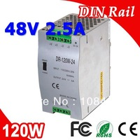 DR-120-48 Single Output LED Din Rail Power Supply Transformer DC 48V 2.5A Output SMPS