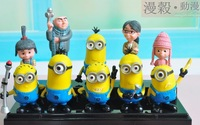 Despicable me minions ornament Christmas gift small milk despicable me doll minion decoration hand-done