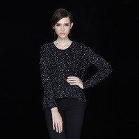 Anti-antalie 2013 fashion o-neck women's long-sleeve pullover knitted sweater