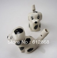 dog Ceramic water birds whistling music furnishing articles children fun toysYH-11 10pcs/loty1-7g50