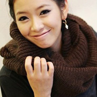 Autumn Winter hot selling woman Warmers pullover scarf wool knitted sarves Collar neck Wrap Shawl for women ladies high quality