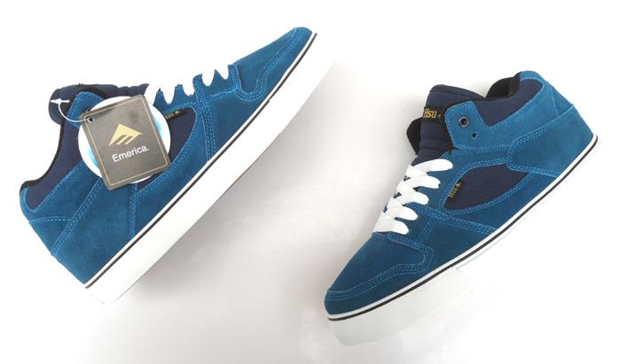 Бесплатная доставка Emerica глобус упаденные скейтборд обуви среднего сократить