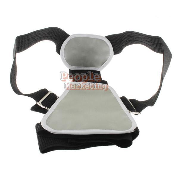Shoulder Support Belt Flexible Posture Back Belt Correct Rectify Posture P4PM(China (Mainland))
