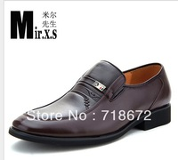 2013 new, men, first layer of leather, apartments, business suits, casual boat shoes, men leather shoes, free shipping