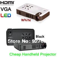 Low Price Mini Projector HDMI 1080p Handheld Smart Phone Projector 3200mA battery HDMI, VGA, USB