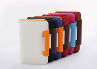 New 4.3-4.7 inch Unique Wallet Leather Case For Nokia Lumia 920 900 820 720 / HTC One X / HTC One S / Meizu MX2 / Haier W910