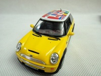 Free shipping KINSMART 1:28 MINI COOPER S Alloy model car toys