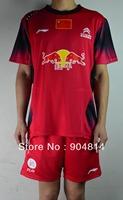 Wholesale Free Shipping LI-Ning Badminton Men's Shirt Tennis Clothes Shirt+shorts / Sports Clothes / Table Tennis Shirt Clothes
