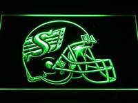 b441-g Saskatchewan Roughriders Helmet Neon Light Sign