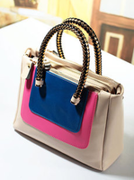 2013 female bags neon color block small bag handbag vintage bag