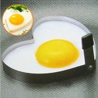 4pcs 2015 new free shipping 1168 stainless steel heart-shaped fried egg ringlove breakfast omelette mold heart shape