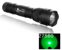 UltraFire WF-502B CREE Q5 Single - Mode 200 Lumen Green Light Fishing Hunting LED Flashlight