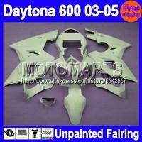 7gifts Unpainted Full Fairing Kit For Triumph Daytona 600 2003-2005 Daytona600 03 04 05 2003 2004 2005 Fairings