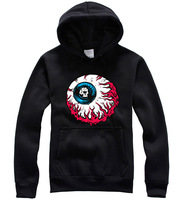 New!!!Autumn Fashion Men/Women's Hip Hop Mishka Hooded Long Sleeve Sweatshirts Cotton Personality  Couples Sweatshirts