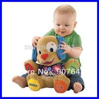 New Baby Infant  Animals Toys Educational Toys Dog Developmental Soft Stuffed Plush 44cm*47cm, Free Shipping