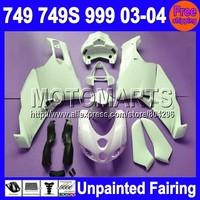 7gifts Unpainted Full Fairing Kit For DUCATI 749 999 03-04 749S 749R 749-999 03 04 2003 2004 2003-2004 Fairings