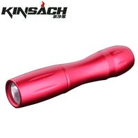Strong light flashlight mini household pocket-size waterproof colorful small flashlight