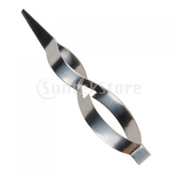 Free Shipping Stainless Steel Cross Lock Tweezers Jewelry Repair Tool