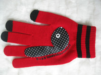 A38 The new touchscreen gloves knitted gloves conductive gloves capacitive sensing glove Stock